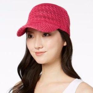Hot Pink Inc International Concepts Crochet Hat